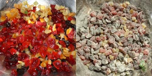 Pokrájené ovoce