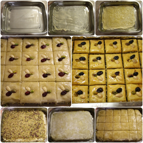 Pečení baklavy