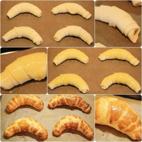 Pečení croissantů