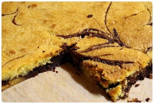Krájení brownies