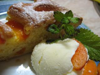 Francouzský ovocný koláč