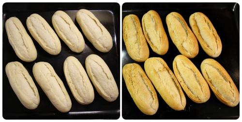 Dopékané bagetky
