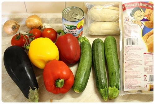 Zelenina na ratatouille