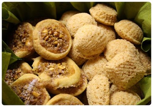 Medová hnízda a kokosové cukroví