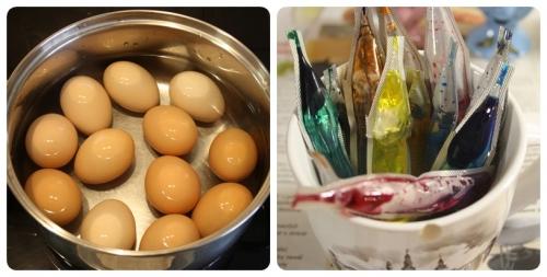 Příprava vajíček
