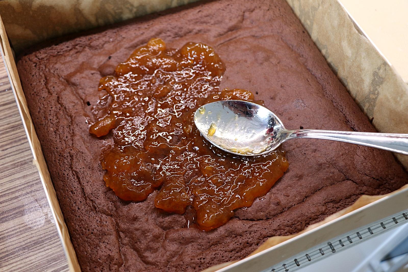 Potření marmeládou