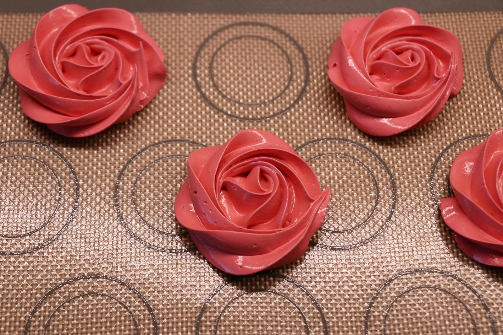 Nastříkané růže
