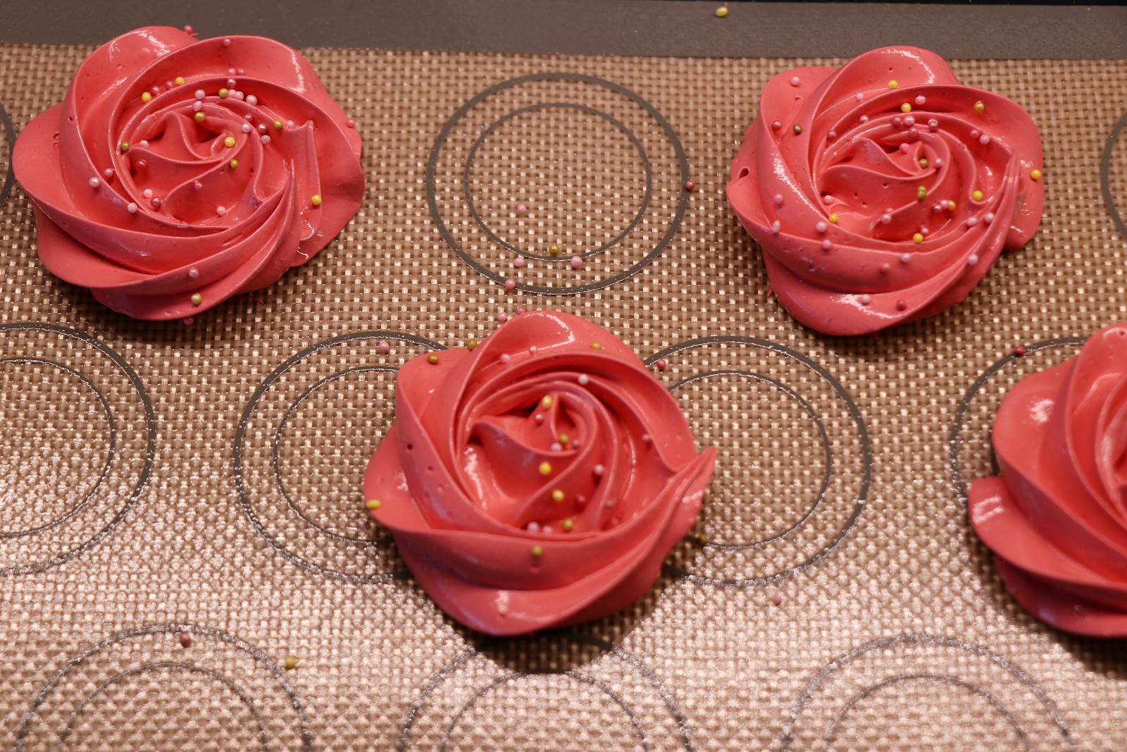 Růže s posypem