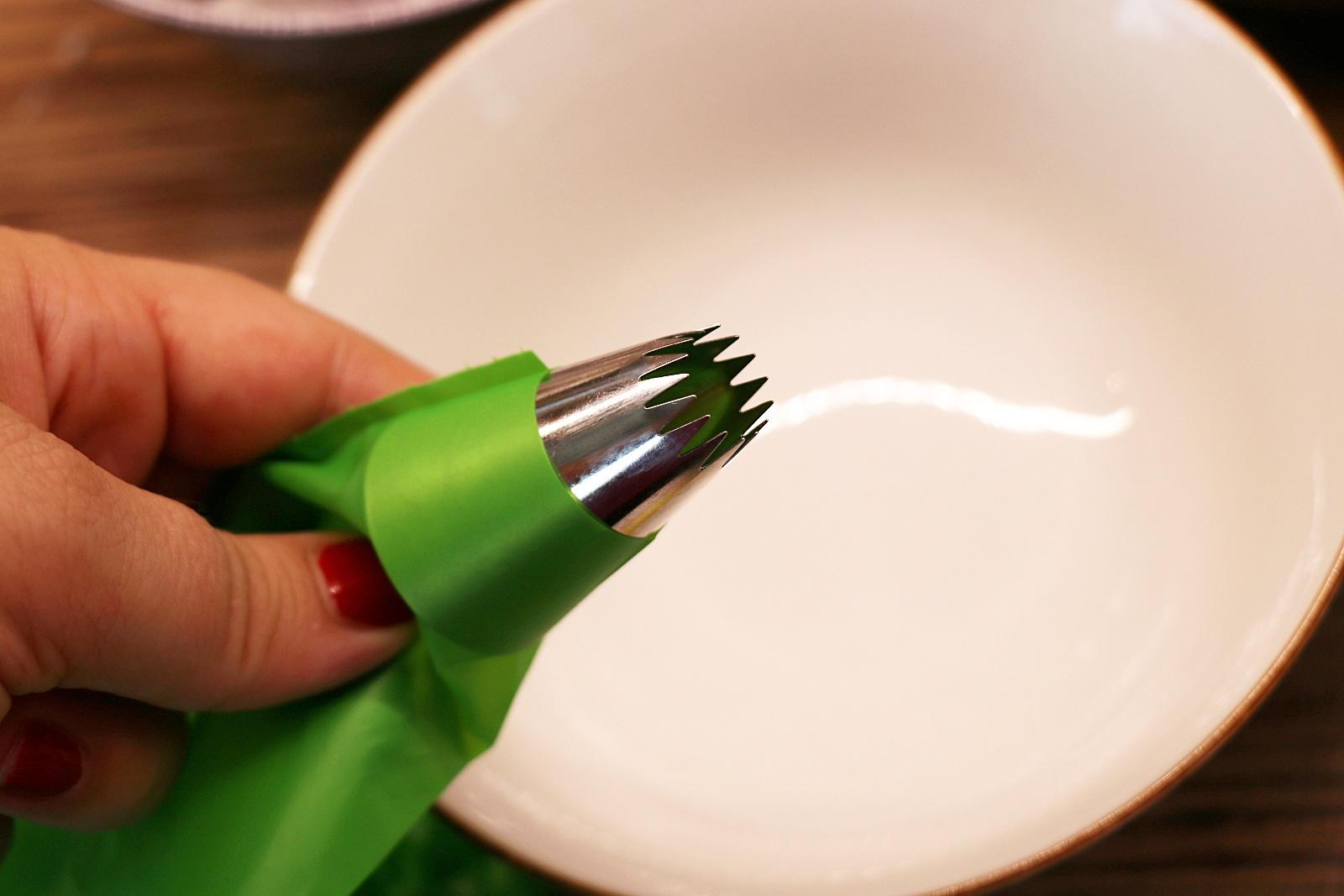 Cukrářský sáček se zdobící špičkou