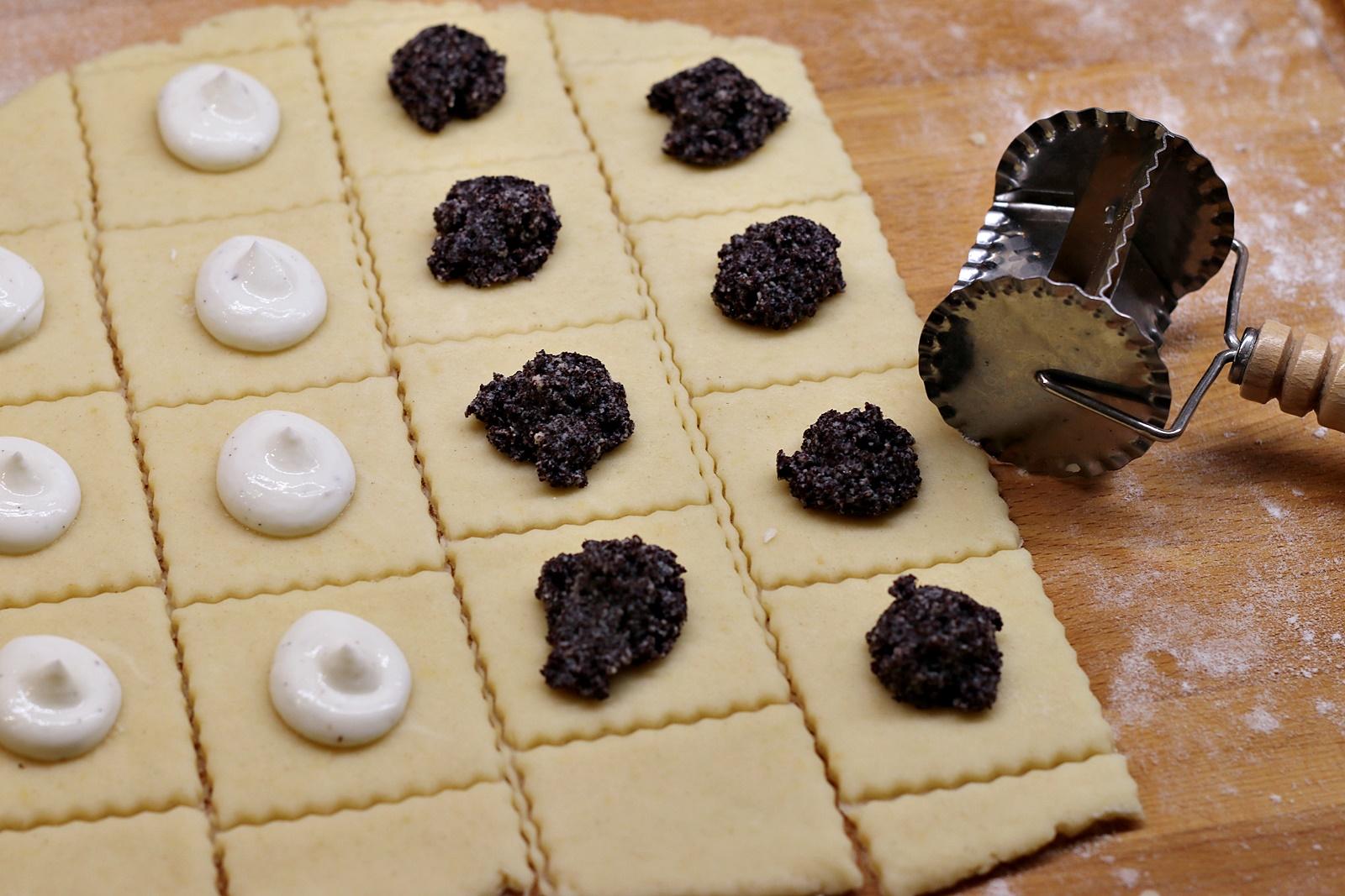 Příprava koláčků