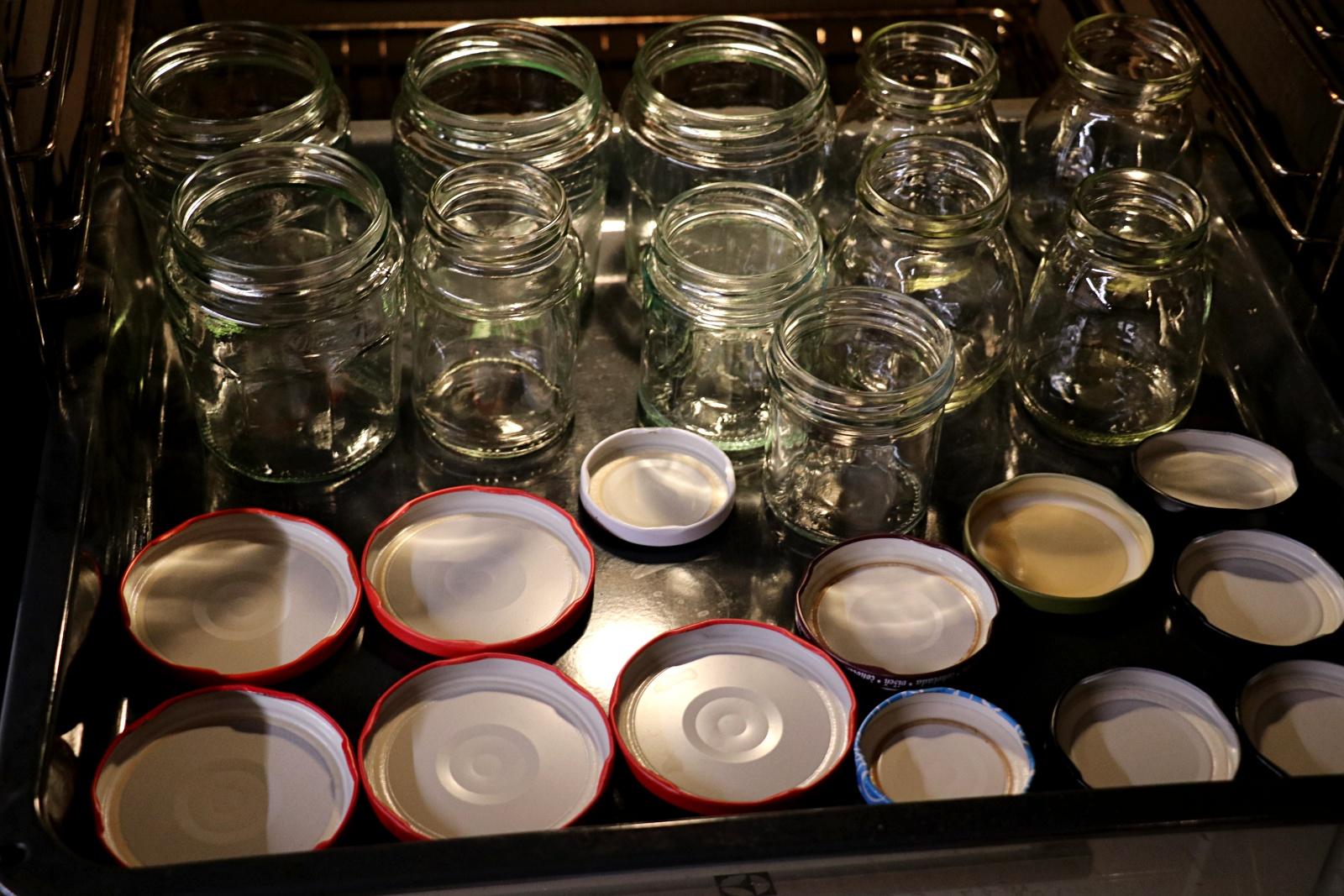 Připravené sklenice