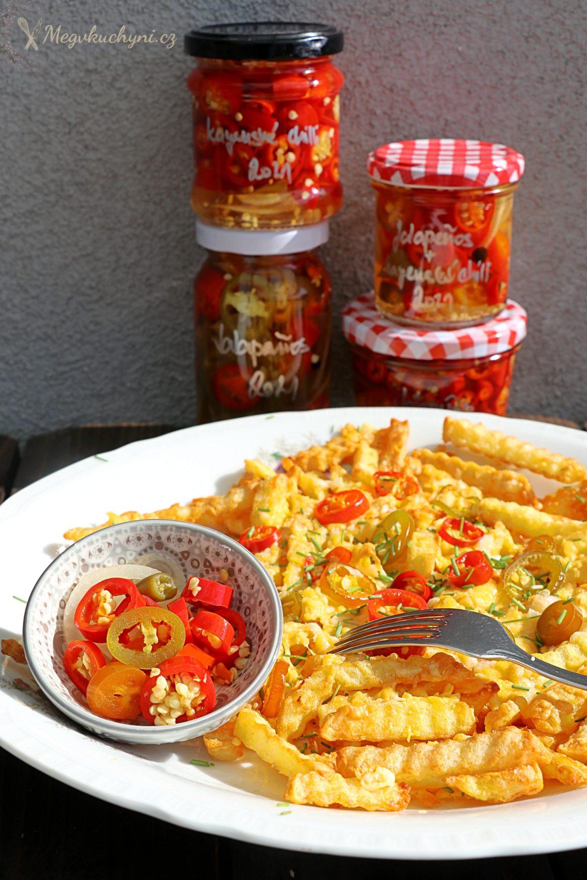 Nakládané jalapeños i jiné chilli papričky