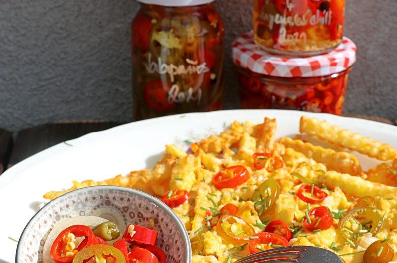 Sladkokyselý nálev pro jalapeños i jiné chilli papričky