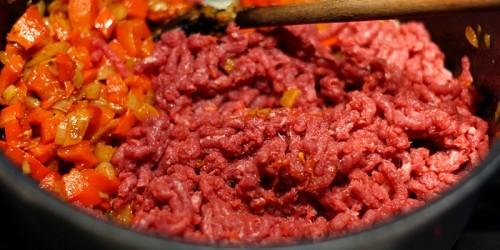 Přidáme maso