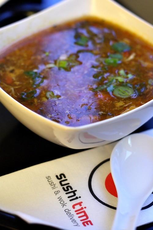 Ostro-kyselá polévka