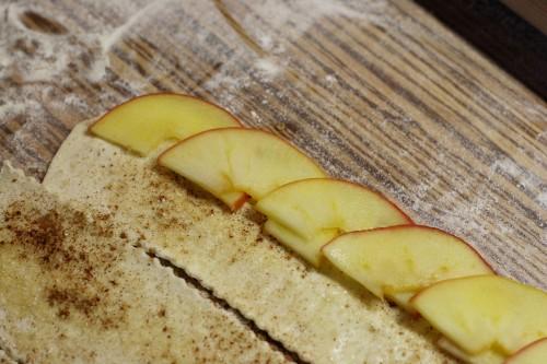 Skládání jablek