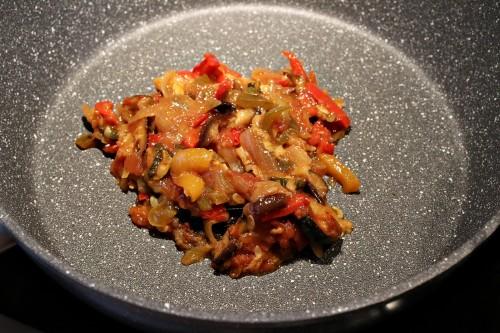 Zeleninová topinková směs