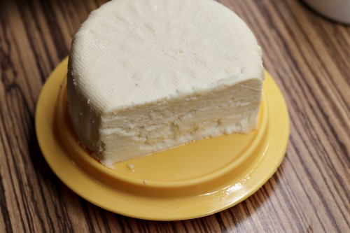 Domácí čerstvý sýr