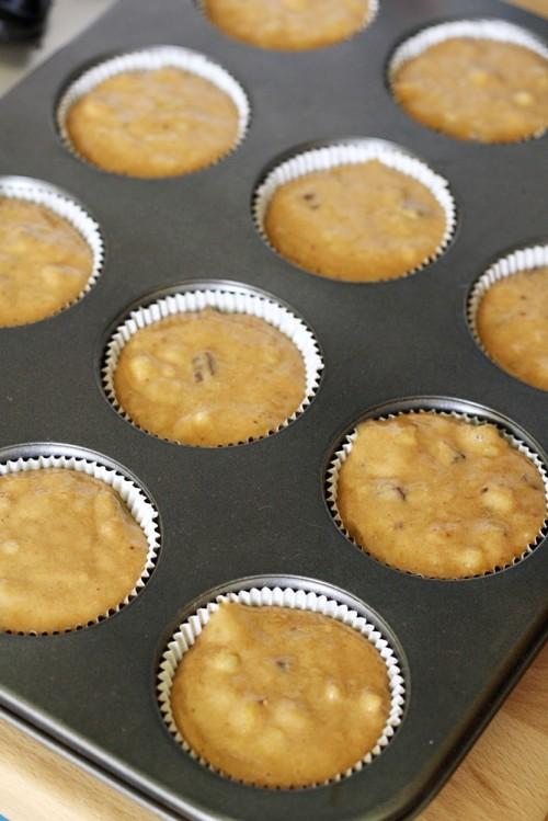 Muffiny před pečením