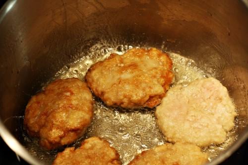 Smažení biftečků