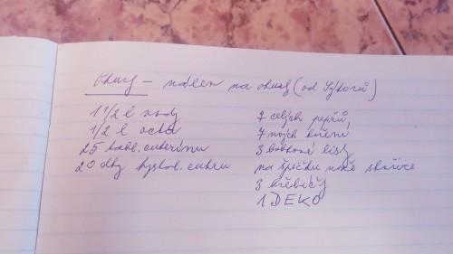 Babiččin recept na okurky
