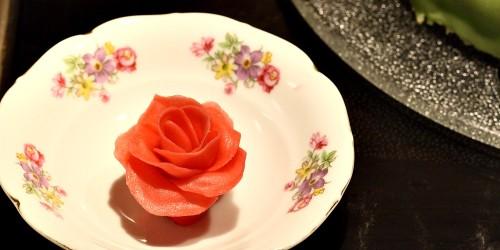 Marcipánová růže