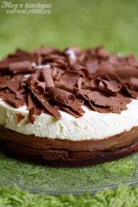 Trojitý čokoládovo-pěnový dort / Triple Chocolate Mousse Cake
