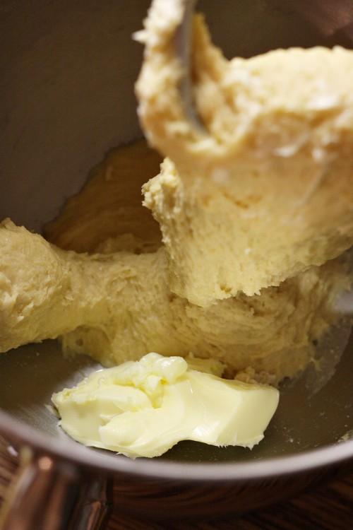 Zapracování másla