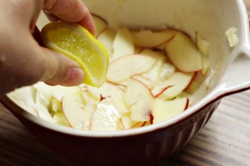 Přidáme citrónovou šťávu