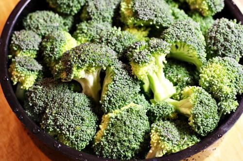 Brokolice připravená k vaření
