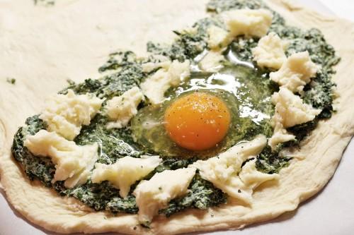 Plnění pizzy