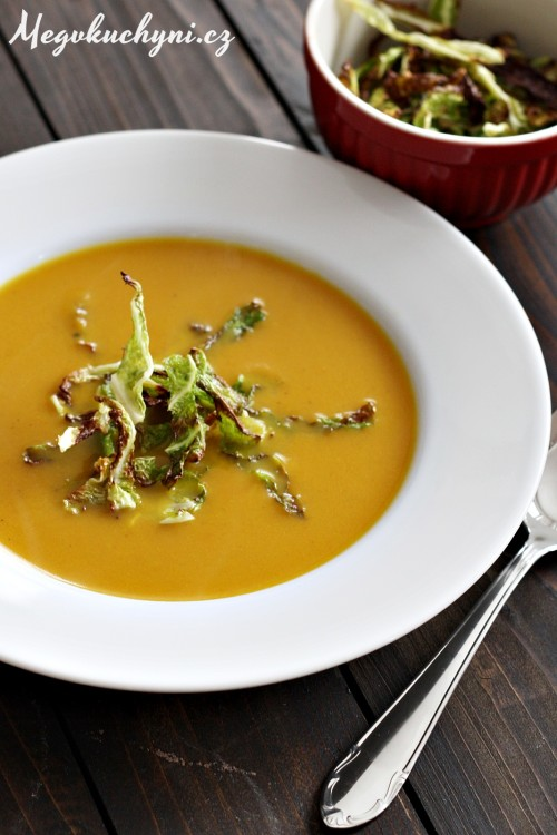 Polévka z pečené mrkve proti nachlazení