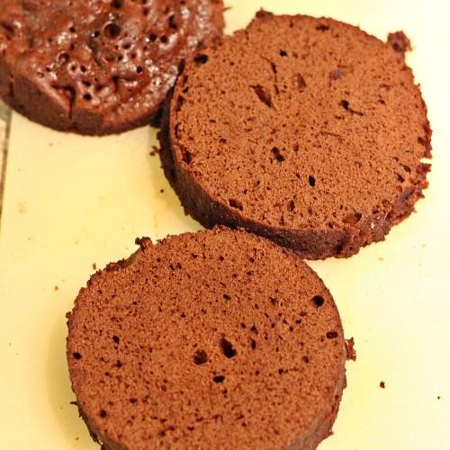 Nakrájený dortík