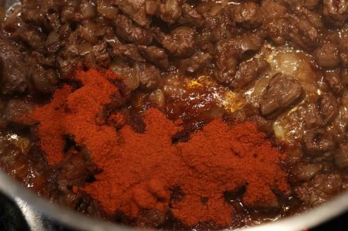 Zasmažení papriky