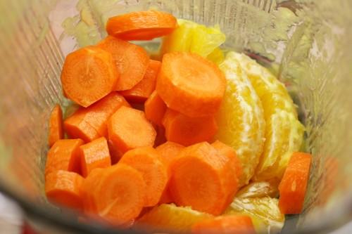 Pomeranč a mrkev