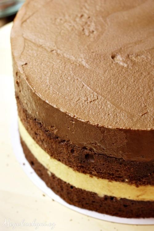 Zatuhlé vrstvy dortu