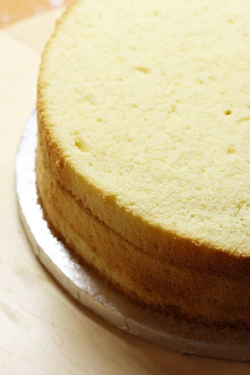 Zarovnaný dort