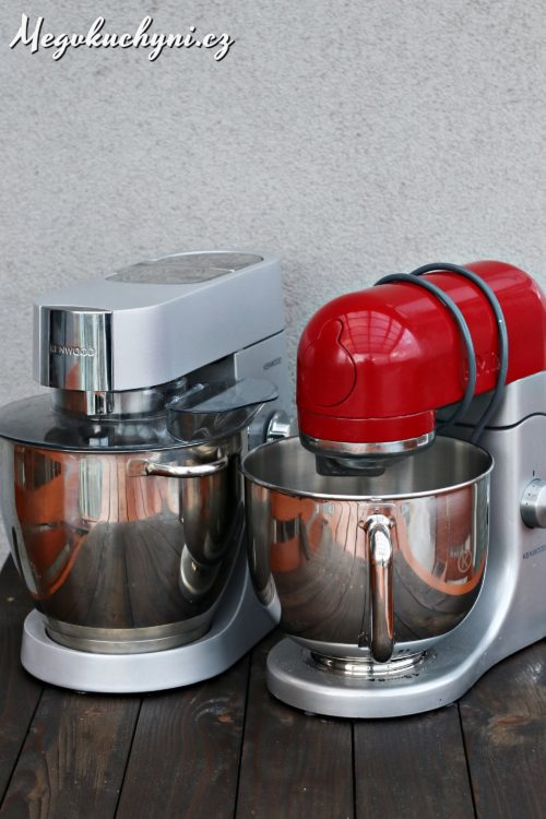 Kenwood Major Titanium vs Kenwood kMix