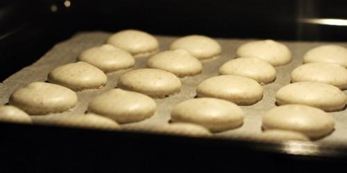 Pečení macarons