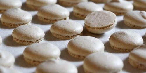 Upečené macarons
