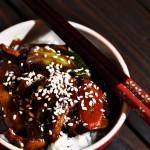 Kuřecí maso s čínským zelím