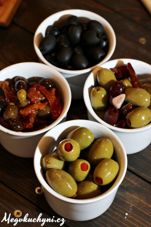 Tesco Finest olivy