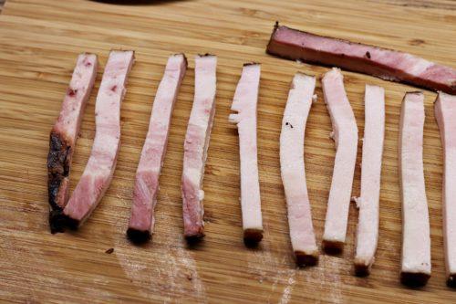Hranolky slaniny