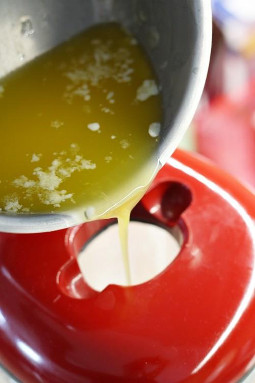 Přidání másla