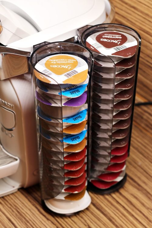 Kávovar Tassimo Caddy - kapsle