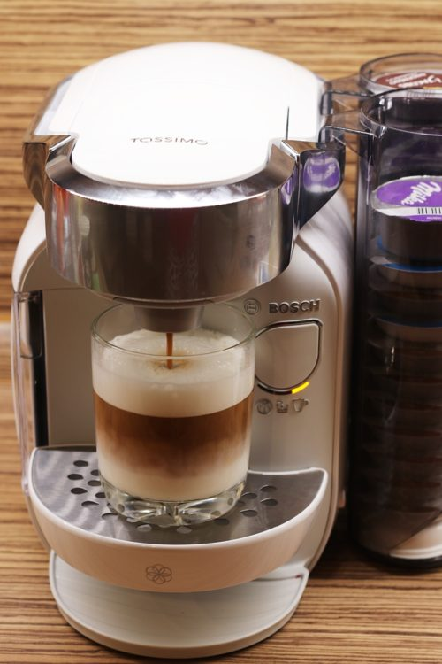 Kávovar Tassimo Caddy - Latte