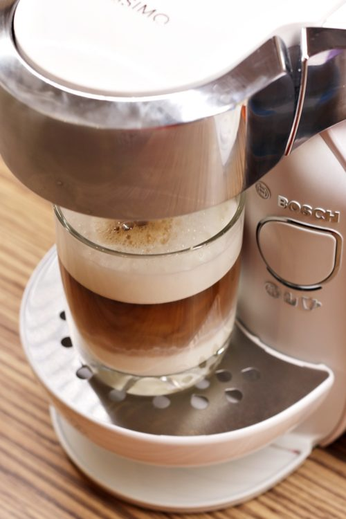 Kávovar Tassimo Caddy - Latte