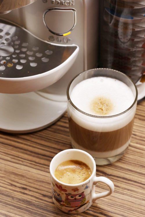 Kávovar Tassimo Caddy - Espresso a Latte