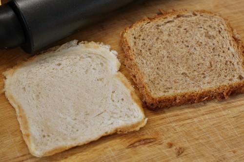 Rozválení toastového chleba