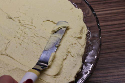 Potírání dortu